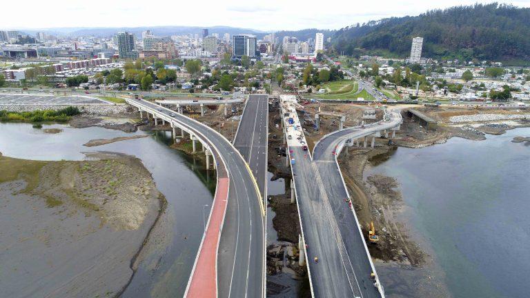 A fin de año puente Chacabuco será conectado a costanera